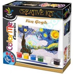 Kreatív Festő szett, Van Gogh - Csilagos éjszaka