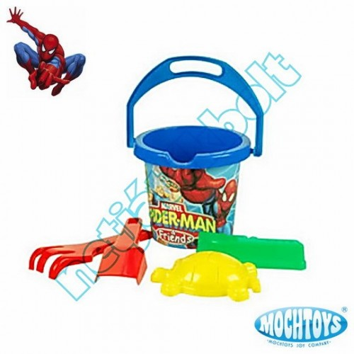 Spider-man homokozó szett 5 darabos
