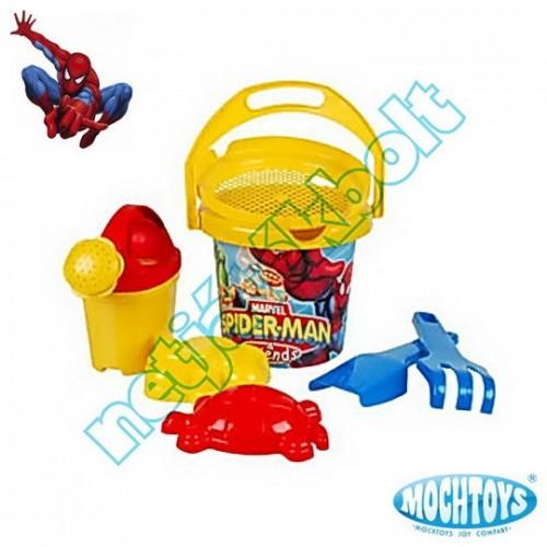Spider-man homokozó szett 7 darabos