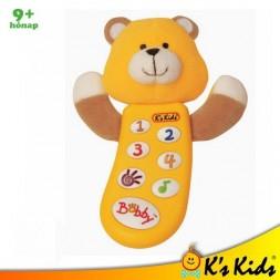 Bobby zenélő babatelefon - K's Kids