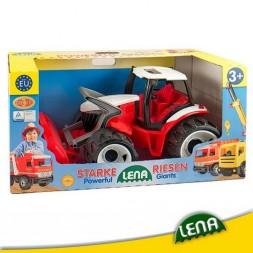 Lena Játék Traktor Homlokrakodós