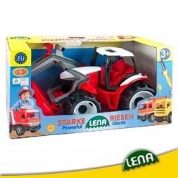 Lena Játék Traktor, Homlokrakodó és Markoló 107cm