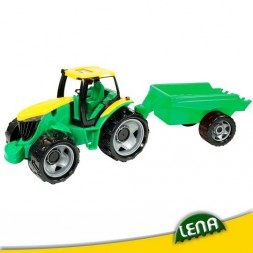 Játék traktor utánfutóval