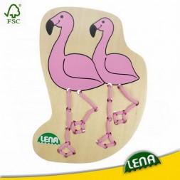 Fűzősjáték, Flamingó