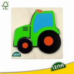Fa puzzle - Traktor
