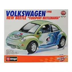 Volkswagen New Beetle, Burago 1/18 metal kit modell