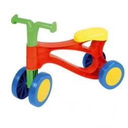Baba-motor, színes, lábbal hajtós kismotor