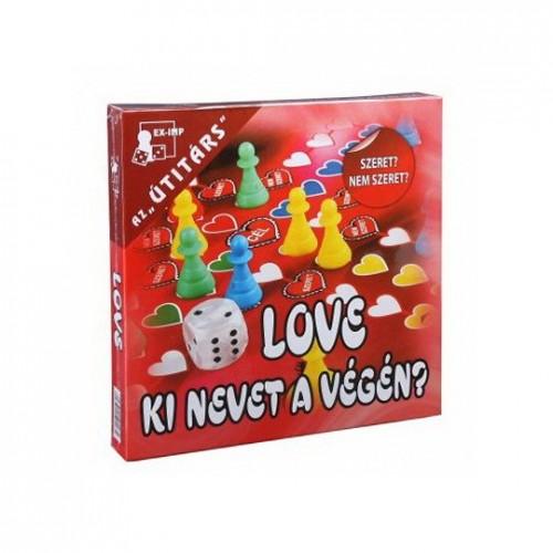 Love-Ki nevet a végén? Társasjáték