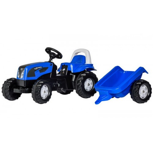 Landini - pedálos traktor utánfutóval
