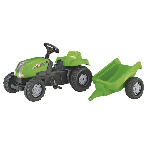 RollyKid-X pedálos traktor utánfutóval