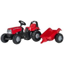 Case pedálos traktor utánfutóval CVX 1170