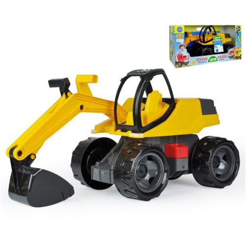 Kanalas markológép, ráülős játék munkagép (dobozos)
