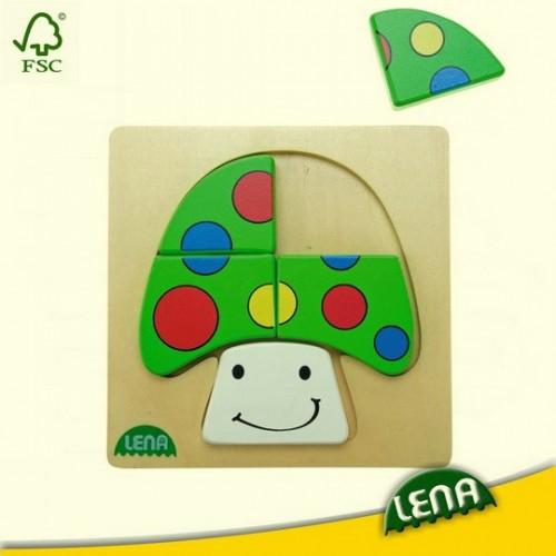 Fa puzzle - Gomba