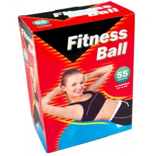 Gimnasztikai, fitnesz labda 55 centiméteres
