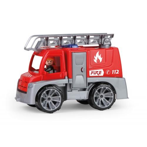 LENA - TRUXX, Játék tűzoltóautó dobozban