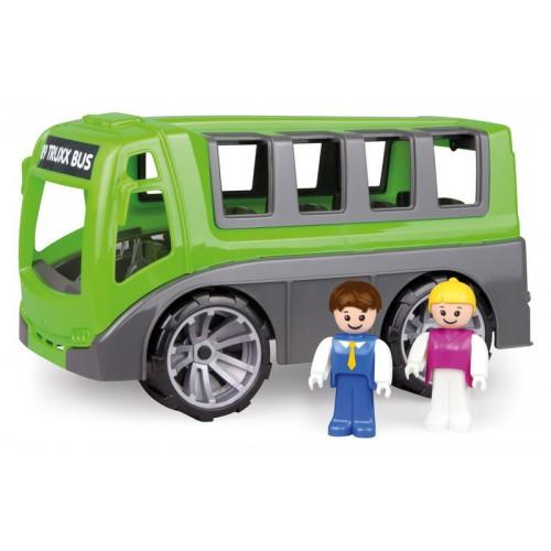 LENA - TRUXX, Játék városnéző busz dobozban
