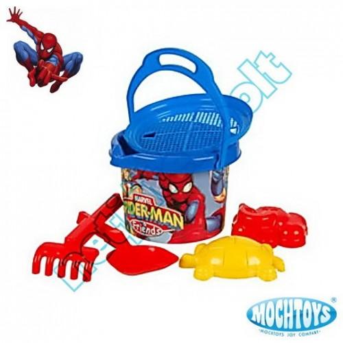 Spider-man homokozó szett 6 darabos