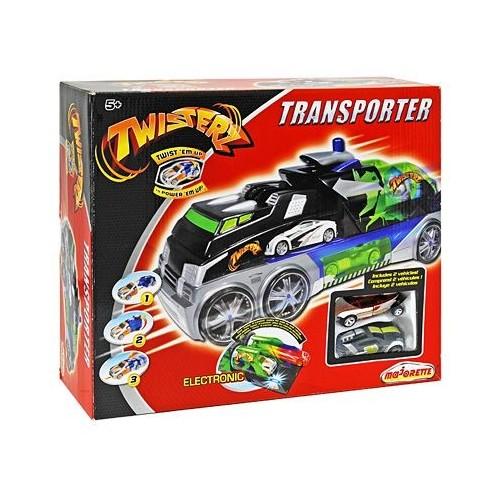 Majorette Twisterz Transporter jármű