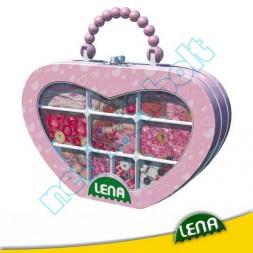 Kreatív Gyöngyfűző szett, pink