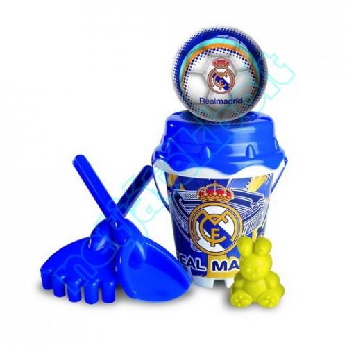 Homokozó készlet labdával, Real Madrid