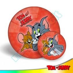 Tom és Jerry barátok labda 23 cm