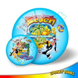 Looney Tunes Beach, labda 23 cm