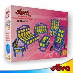 JÁVA 4 építőjáték, 838 darabos