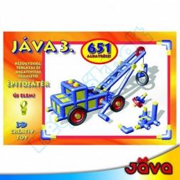 JÁVA 3, 651 darabos építőjáték
