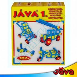 JÁVA 1 építőjáték, 209 darabos