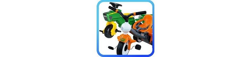 Pedálos traktor - Tricikli
